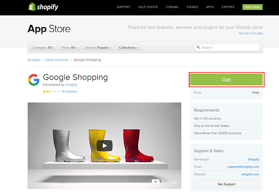Yakit shipping tweaks for Google Shopping Product Feed