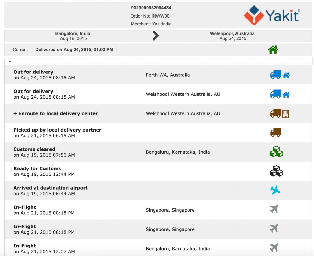 Yakit tracking dashboard