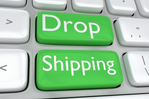 Technology driven cross border drop shipping