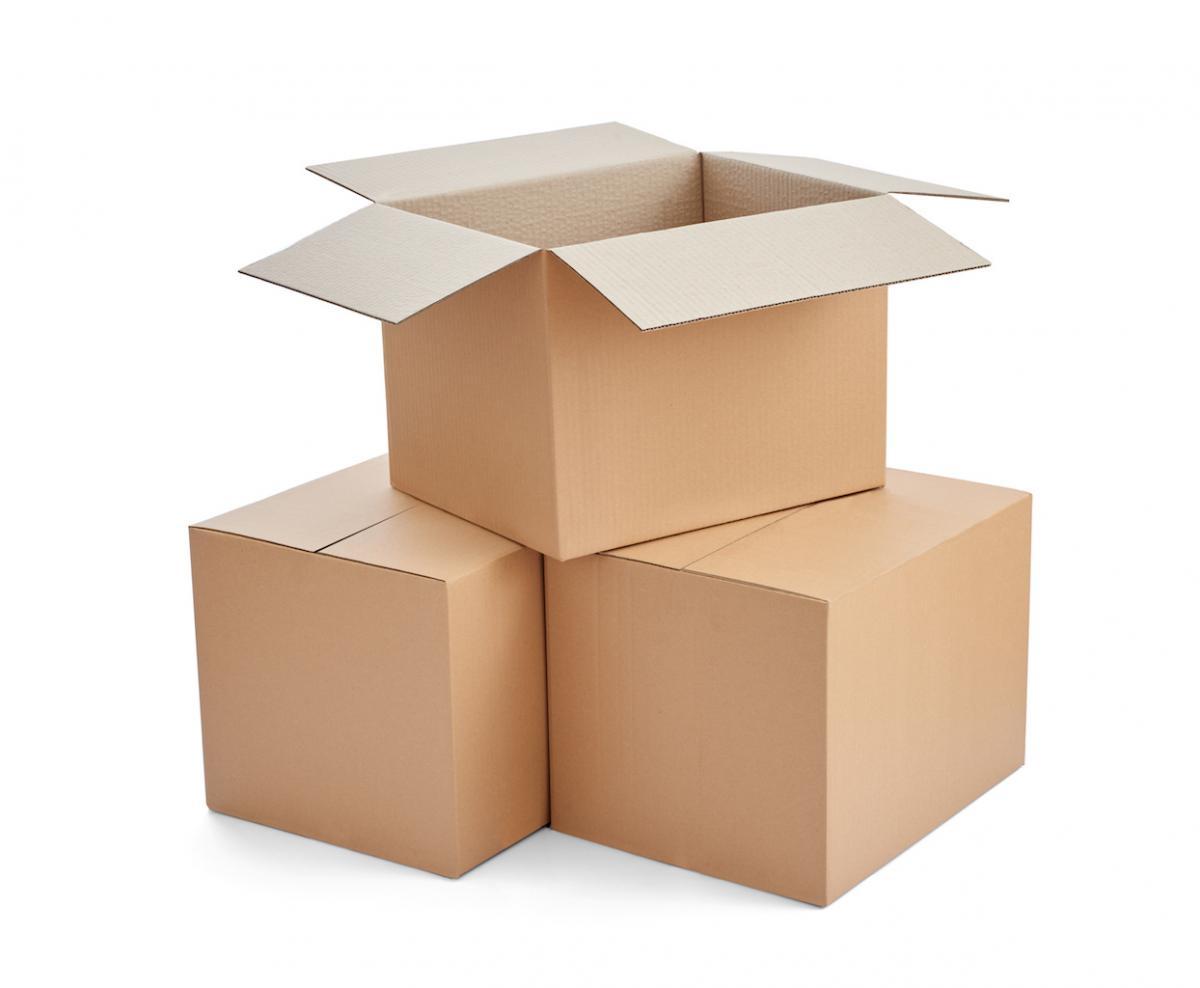 Standalone cardboard Yakit Box
