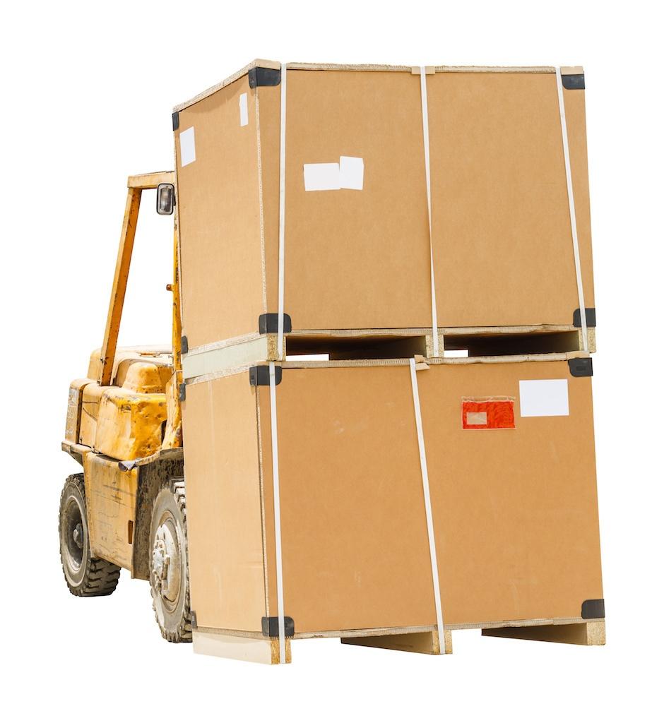 Forklifting a Yakit (master) Box
